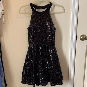 Sequence Black Dress. Size 7/8.